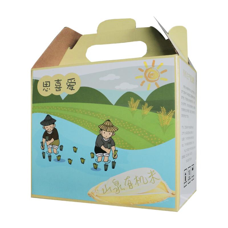 思喜爱山泉有机米 有机大米 3Kg/箱