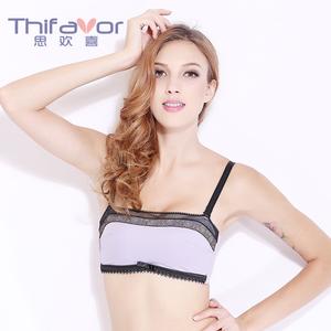 思欢喜(THIFAVOR)调整抹胸款舒适透气聚拢女士文胸-TK0129